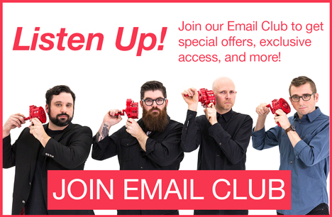 Listen Up! Join our Email Club