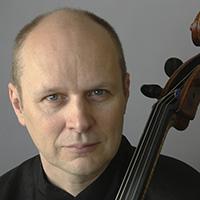 """<font color=""""#287b9e""""><b>Anssi Karttunen, <i>cello</i><br>Nicolas Hodges, <i>piano</i></b></font>"""