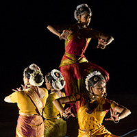 "<font color=""#287b9e""><b>Ragamala Dance Company; <i>Written in Water</i></b></font>"
