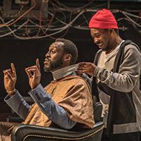 "<font style=""color:#1294d8;""><b><i>Barber Shop Chronicles</i>; A Fuel, National Theatre, and West Yorkshire Playhouse</b></font>"