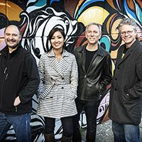 "<font style=""color:#1294d8;""><b>Kronos Quartet; <i>Fifty for the Future</i></b></font>"