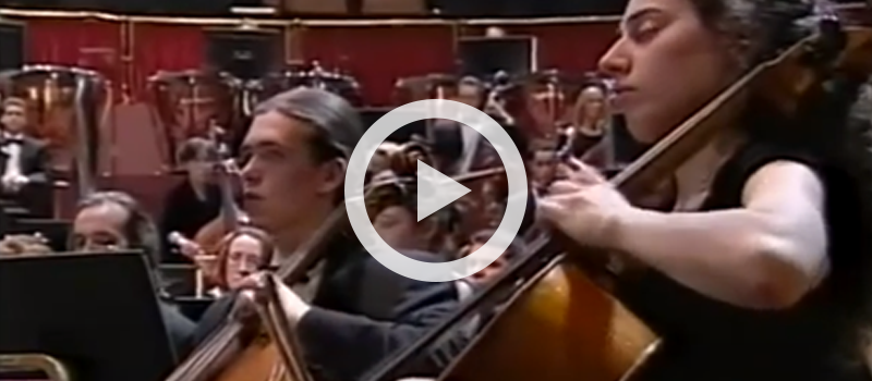 Berlioz' Dies irae and Tuba mirum from Requiem, Op. 5, conducted by Sir Colin Davis
