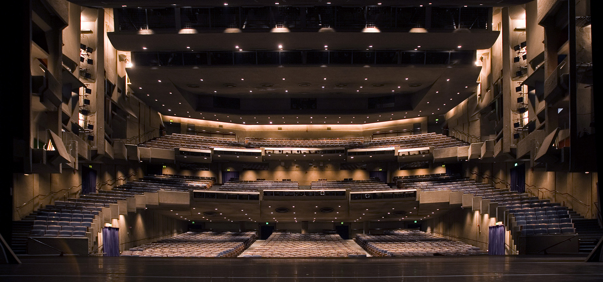 Zellerbach Hall from stage