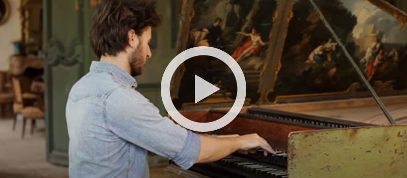 Jean Rondeau performs Royer's Vertigo on the harpsichord
