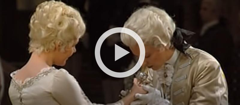 """Barbara Bonney and Anne Sofie von Otter in R. Strauss' """"Presentation of the Rose"""" Scene from Der Rosenkavalier, Op. 59"""