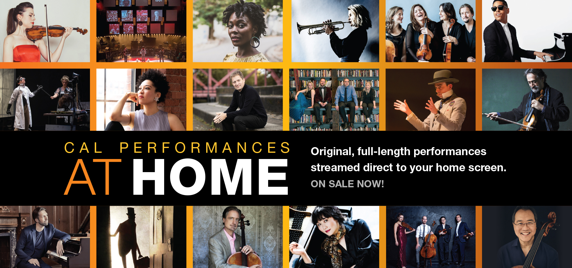 Cal Performances at Home