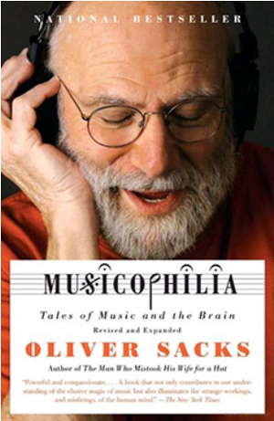 Musicophilia by Oliver Sacks book cover