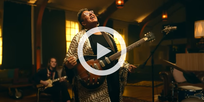 """Brittany Howard performing """"You'll Never Walk Alone"""" from Carousel"""