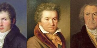Beethoven at different ages