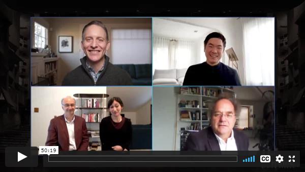 Jeremy Geffen has an artist talk with Takacs Quartet via zoom via zoom