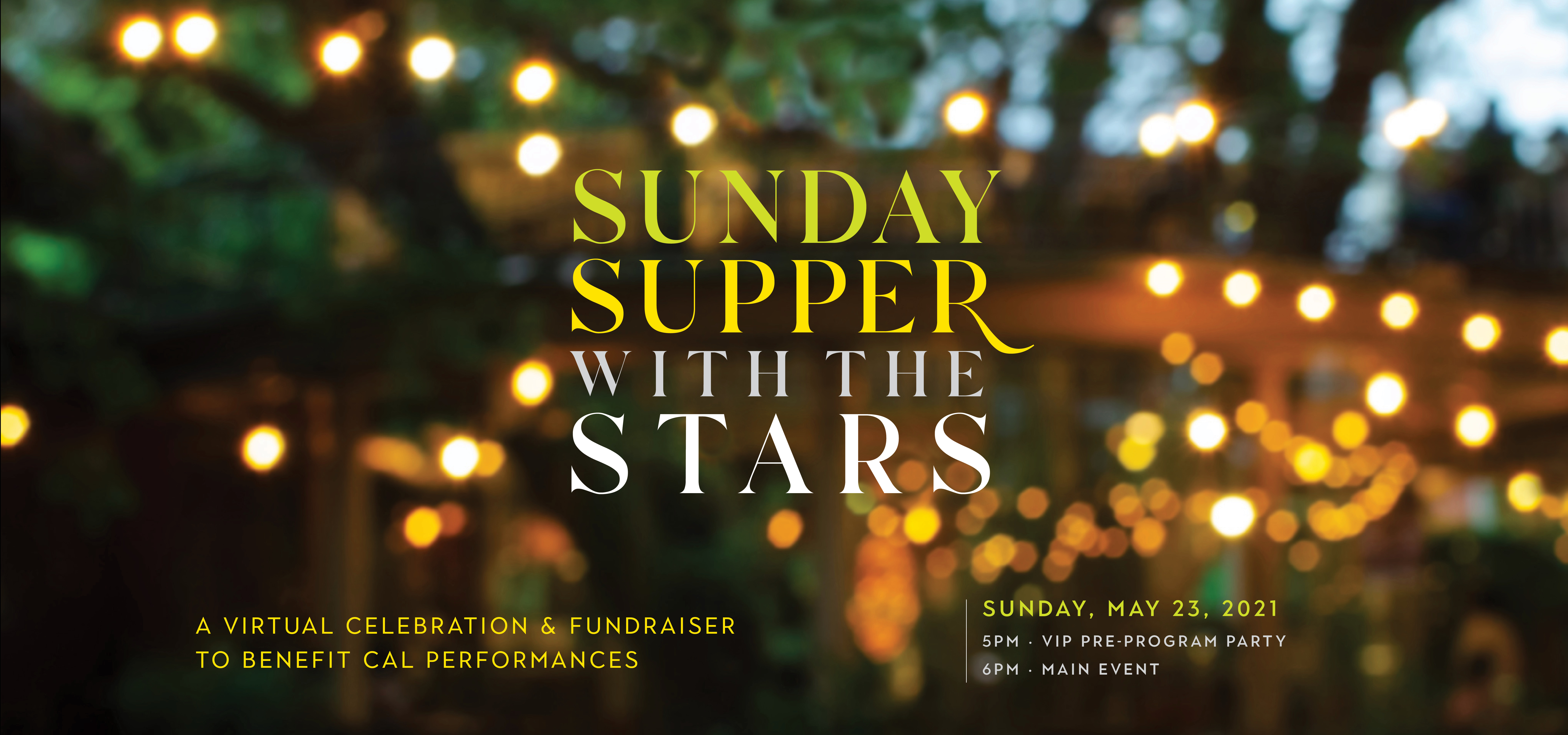 Sunday Supper with the Stars