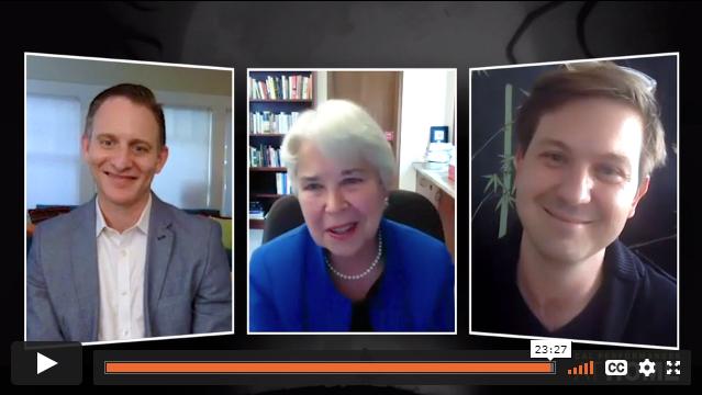 Carol Christ, Drew Dir, and Jeremy Geffen Artist Conversation