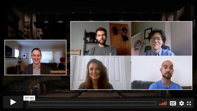 Dover Quartet and Jeremy Geffen Artist Conversation