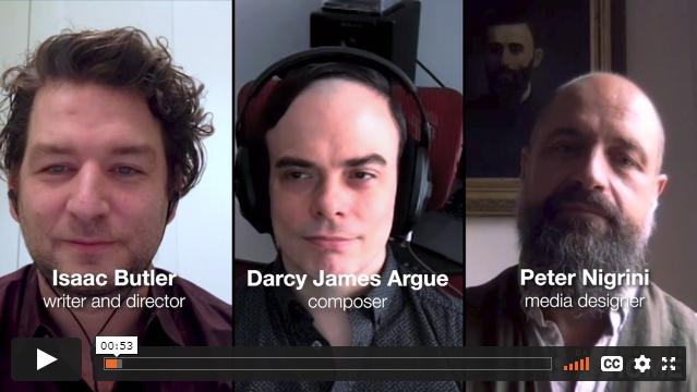 Darcy James Argue, Isaac Butler, Peter Nigrini, and Jeremy Geffen Artist Conversation
