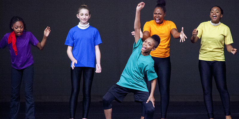 AileyCamp Students