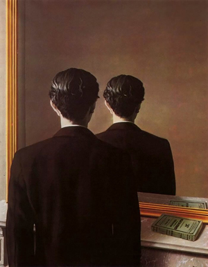 Not to Be Reproduced, 1937, by René Magritte